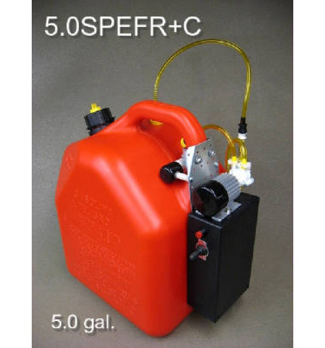 Jersey Modeler 5 Gallon Gas/Electric Pump Plus Charger(5SPEFR+C)