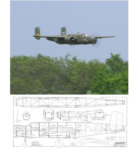 "B-25 Mitchell 101"" Plan"