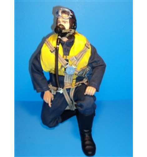 WWII British RAF RC Pilot Figure 15""