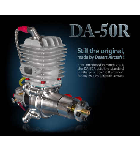 Desert Aircraft Engines DA 50R, DA 60, DA 85  w/ Electronic Ignition & Rear Carb