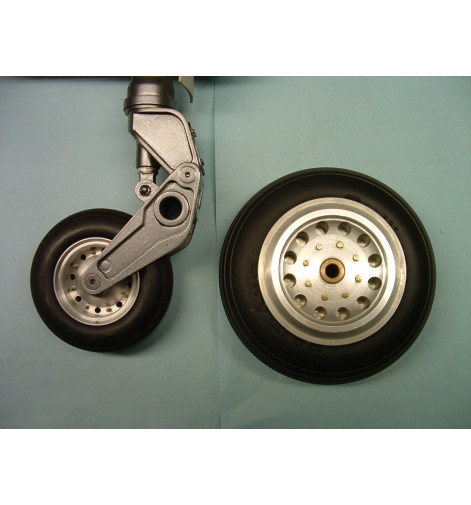 Sierra Giant Scale De Havilland Sea Vixen Wheel and tire set