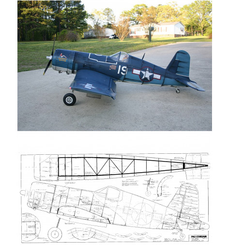 F4U-1 Corsair Plan