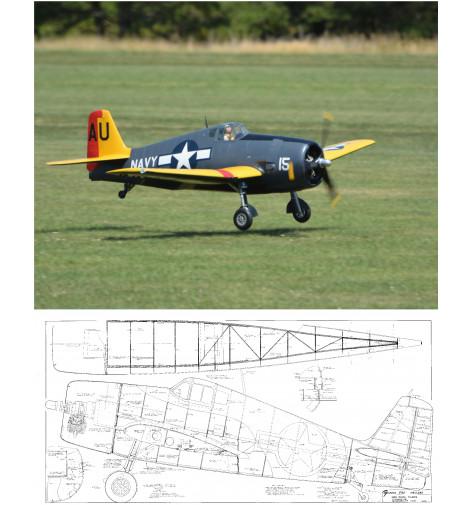F6F Hellcat Plan