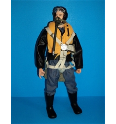 "WWII German Luftwaffe RC Pilot Figure 12"""