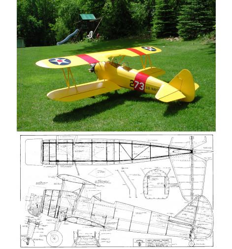 "PT-17 Kaydet/Stearman 77"" Plan"