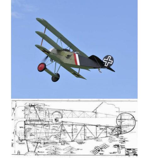 Ron Weiss DR-1 Triplane Plan