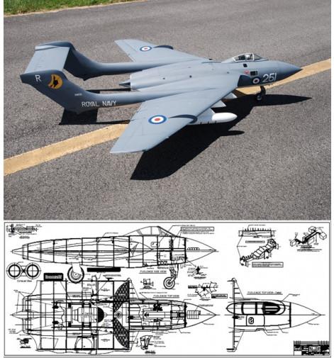Sterner De Havilland DH.110 Sea Vixen Plan