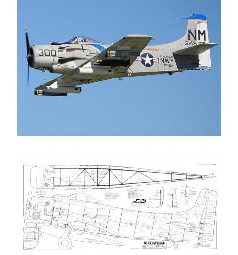 AD-1 Skyraider Plan