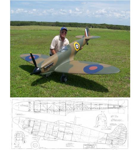 Supermarine Spitfire Mk I-V Plan
