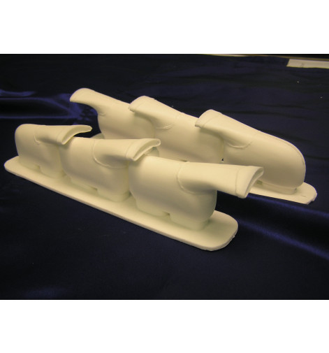 Supermarine Spitfire MK I-V Cast Resin Exhaust Stacks