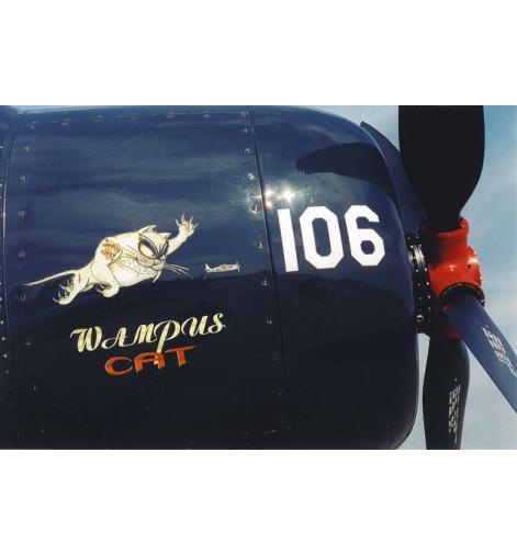 F8-F Bearcat Wampus Cat Vinyl Graphics