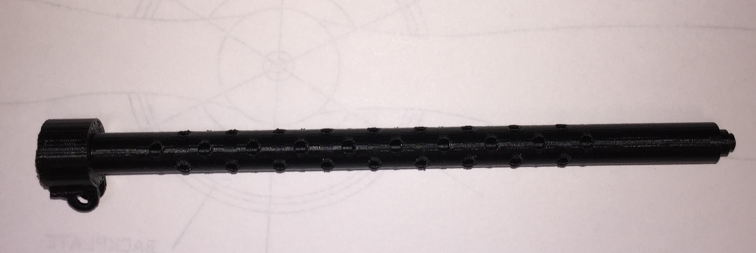 Browning 50 caliber MG barrel(AN/M2) - Scale Guns by Rosa