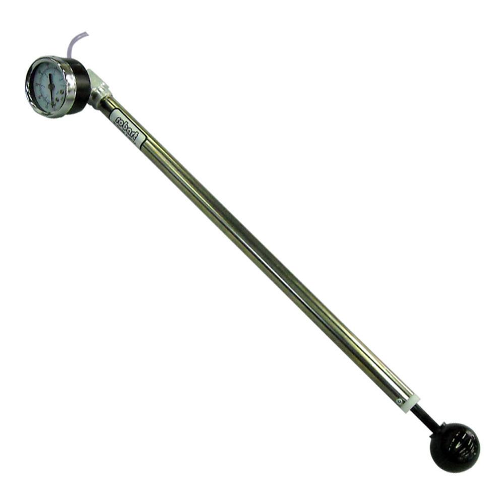 Robart  #164G Hand Air Pump W/Gauge