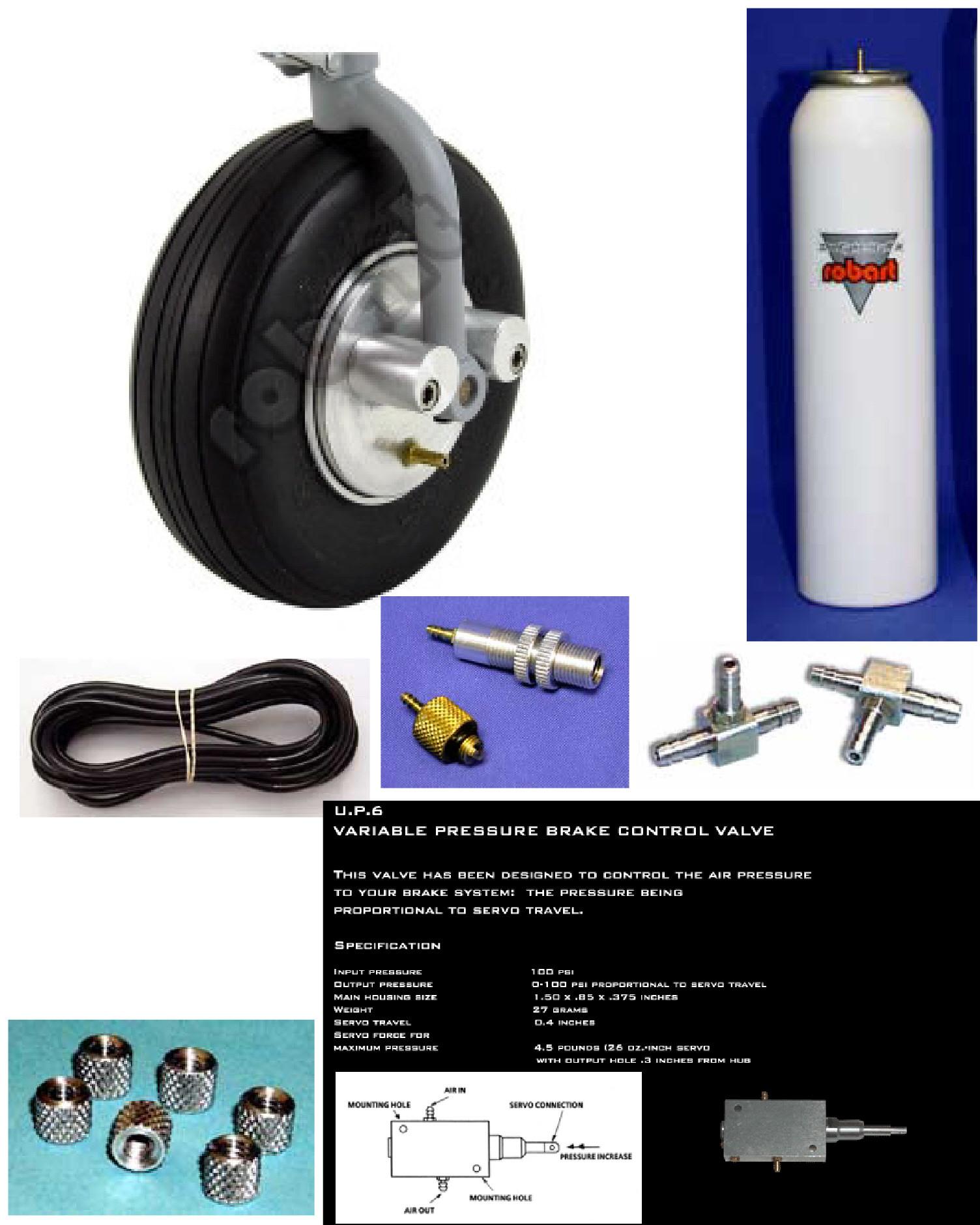 Brakes: Robart #143-1 (Brakes, UPS valve, Air Kit)