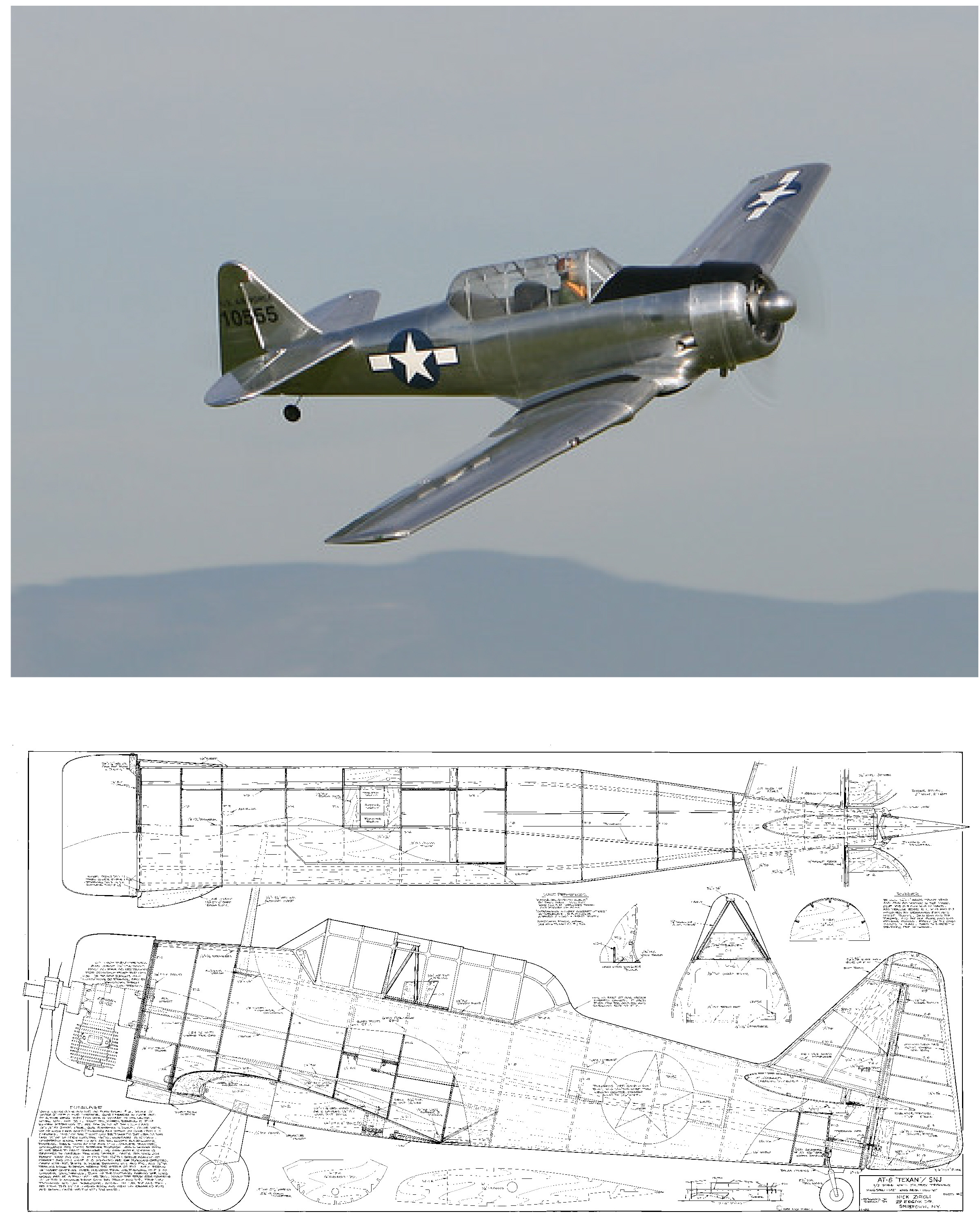 AT-6 Texan/SNJ Plan