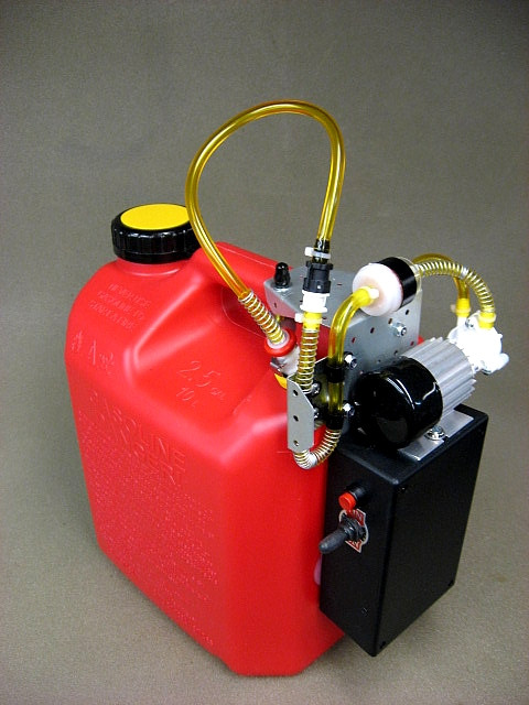 Jersey Modeler 2.5 Gallon Gas/Electric Pump Plus Charger(2.5SPEFR+C)
