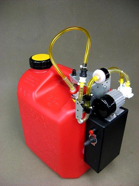 Jersey Modeler 2.5 Gallon Gas/Electric Pump Plus Charger(2.5SPEFR+C)