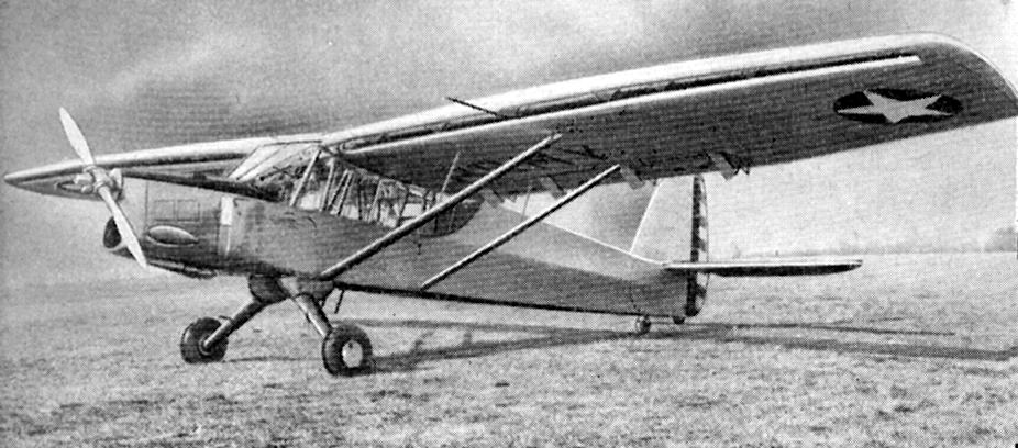 Bellanca YO-50, 1940 Liaison