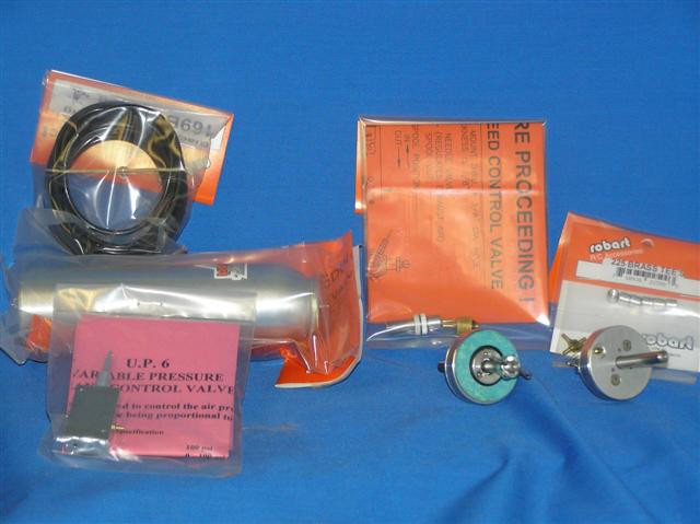 """Sierra Giant Scale 1.5"""" Disk Brakes and Air Kit"""