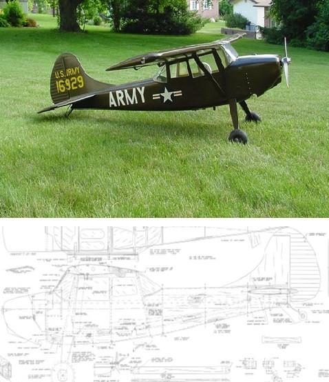 Vailly Cessna L-19 Plan