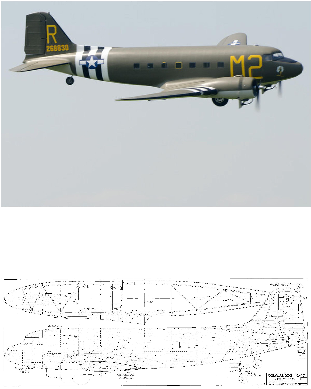 Douglas C-47/DC-3 Plan