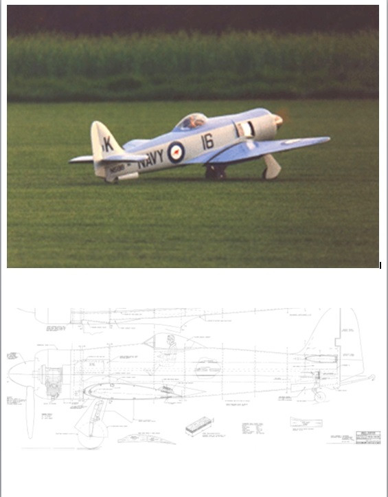 Vailly Sea Fury Plan