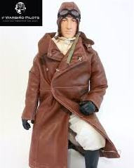WWI American / British RC Pilot Figure