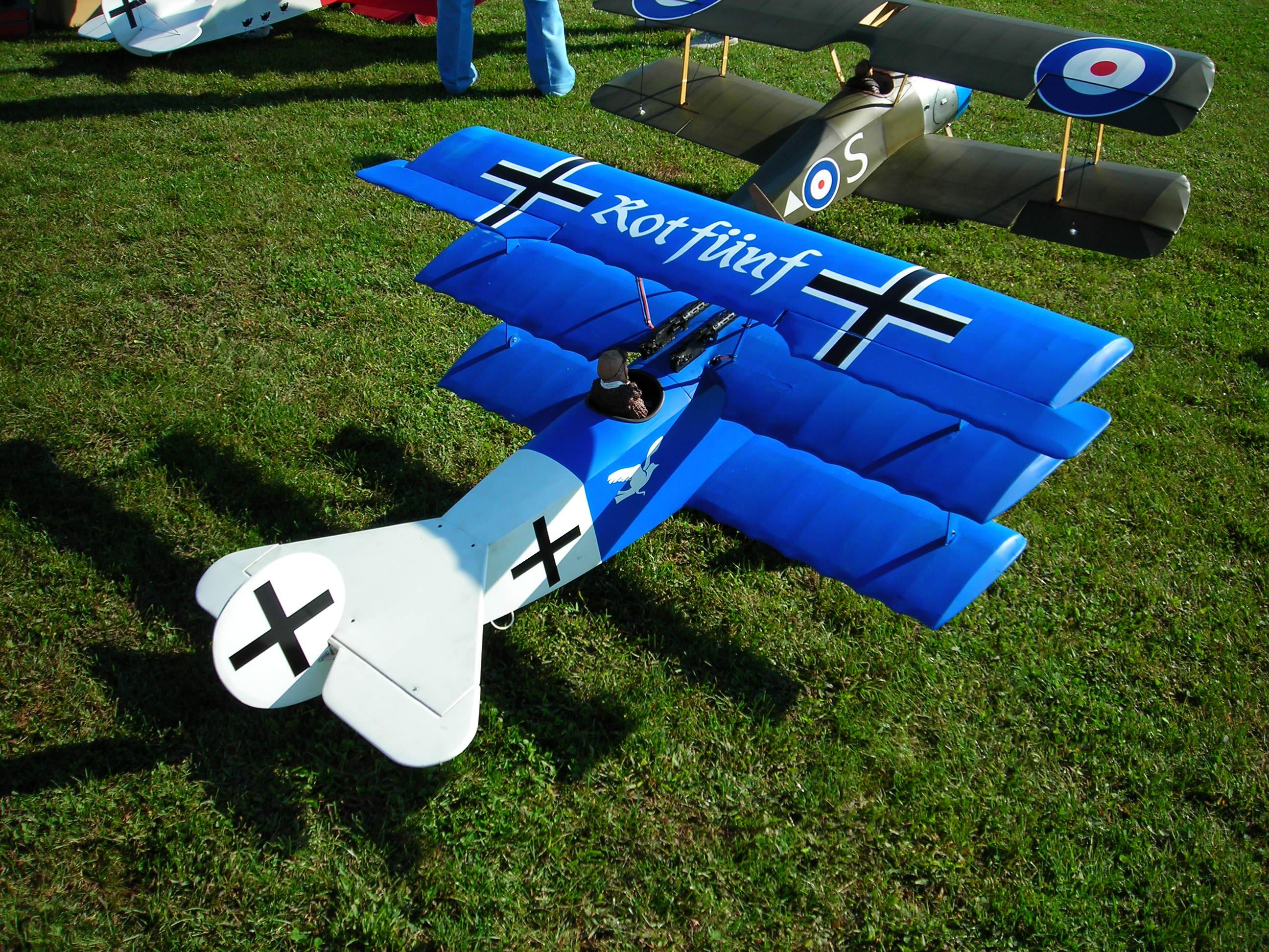 Fokker DR-1 Vinyl Graphics