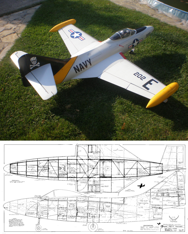 F9F Panther Plan