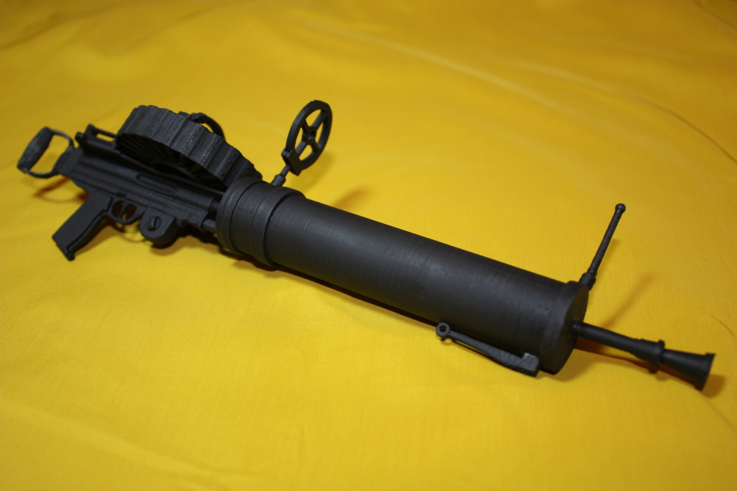 Type II Lewis Gun with twin handles