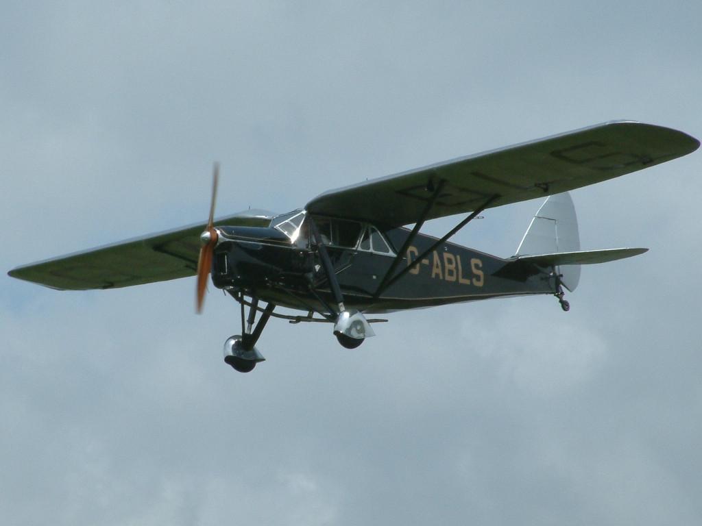 DH 80A 1932 Puss Moth