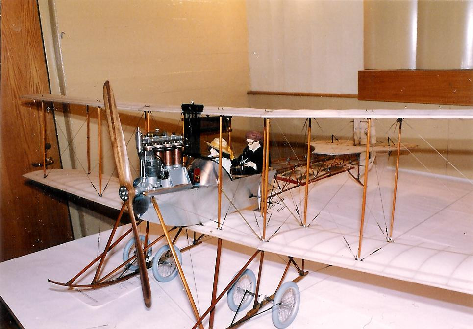 Avro Model D 1911 Biplane 1/6 Scale