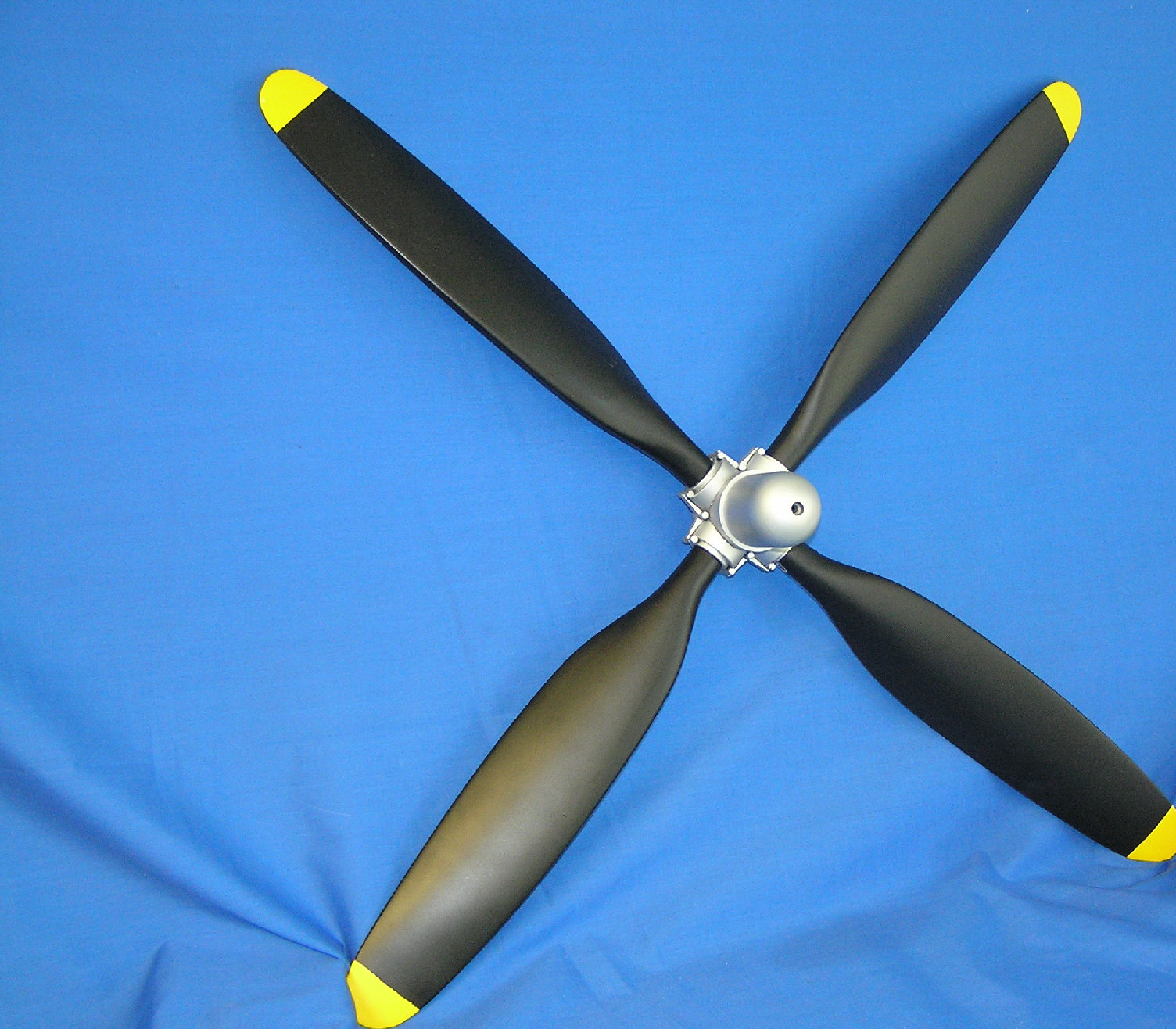 Hamilton Standard Scale Static Propeller 4-Blade (Non-Painted)