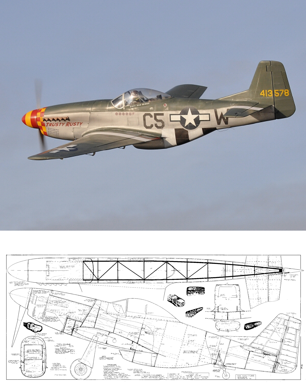 P-51D Mustang Plans