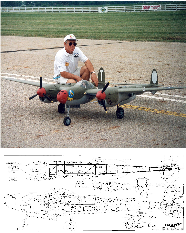 P-38 Lightning Plan