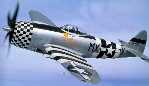 "P-47 Thunderbolt ""No Guts No Glory"" Vinyl Graphics"