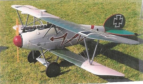 Albatros D5A WWI Fighter
