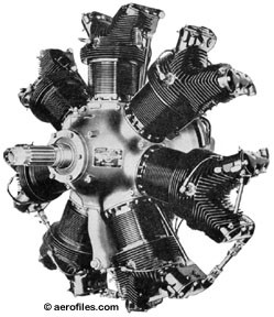 7-Cylinder Continental Dummy Engine Kit