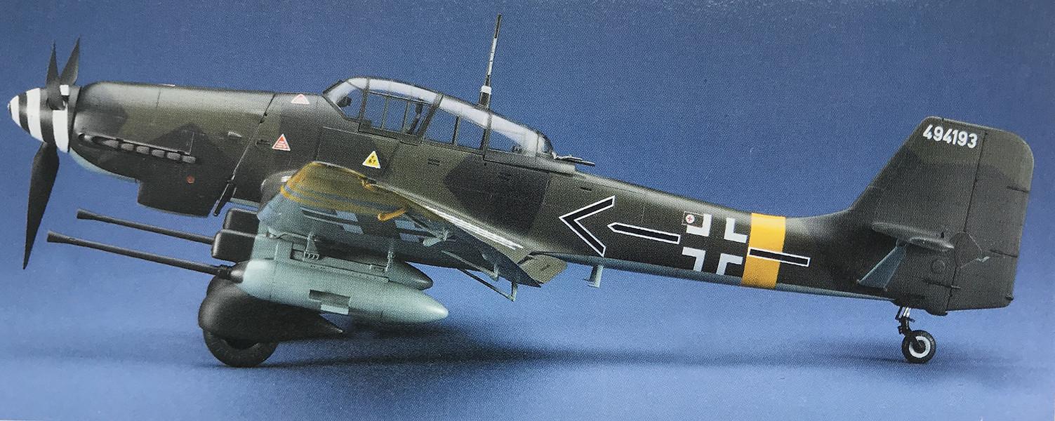 """JU-87G Stuka """"Rudel"""" Vinyl Graphics"""