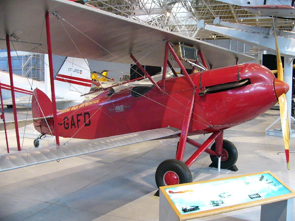 Waco 10 Biplane 1930 OX5