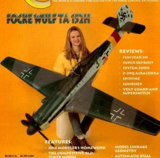 1/6 Scale Focke Wulf TA-152H Plans