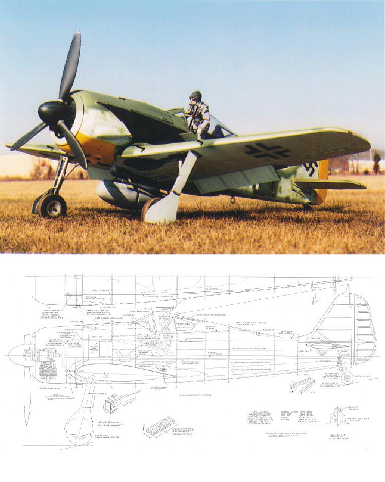 Focke-Wulf FW-190 A-5/A-8 Plan