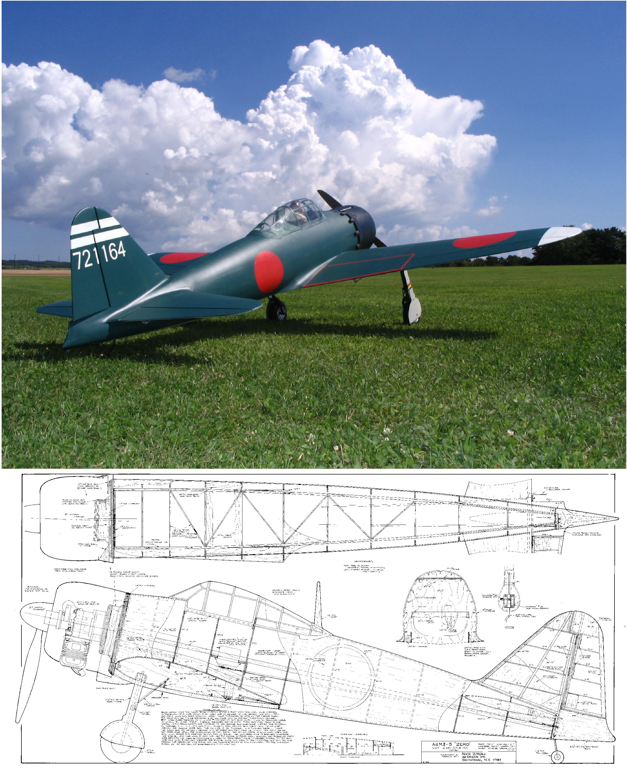A6M5 Zero Plan