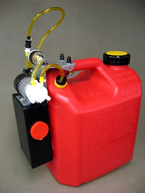 Jersey Modeler 2 5 Gallon Gas Electric Pump Plus Charger 2