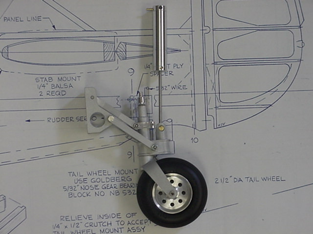 Sierra Giant Scale Vailly Fw 190 Tailwheel Retract Fw