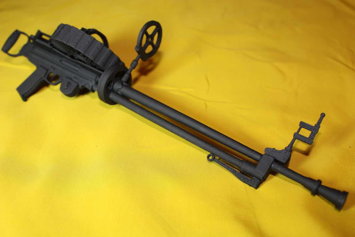 Scale Wwi Type Iii Lewis Gun With Twin Handles