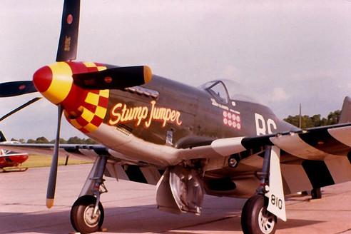 P 51d Mustang Quot Stump Jumper Quot Vinyl Graphics