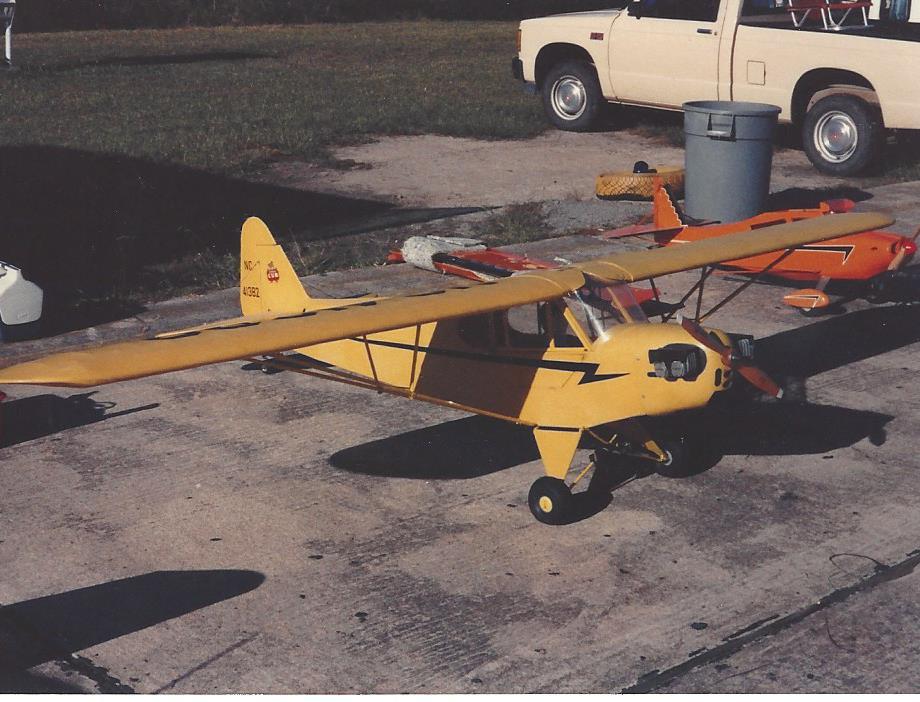 Piper J3 Cub Pa 11 Cub Special 1 4 Scale Plan Scale