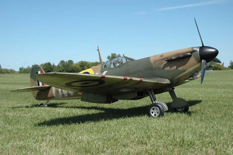 Supermarine Spitfire Mk I V Plan Nick Ziroli Scale Plans