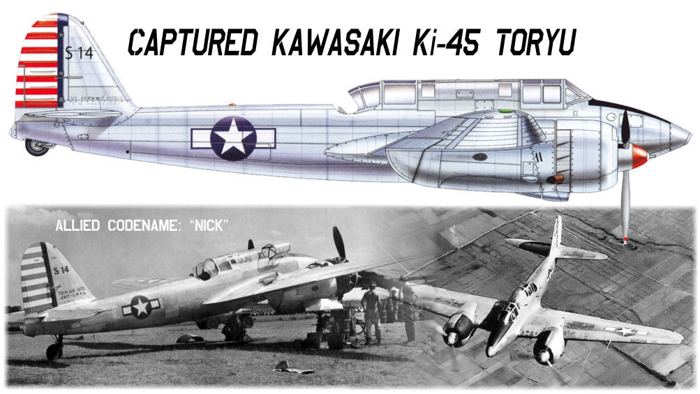 Kawasaki Ki 45 Quot Nick Quot Plans David Andersen Scale Plans